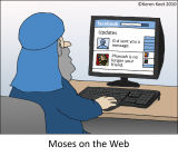 Moses on Facebook