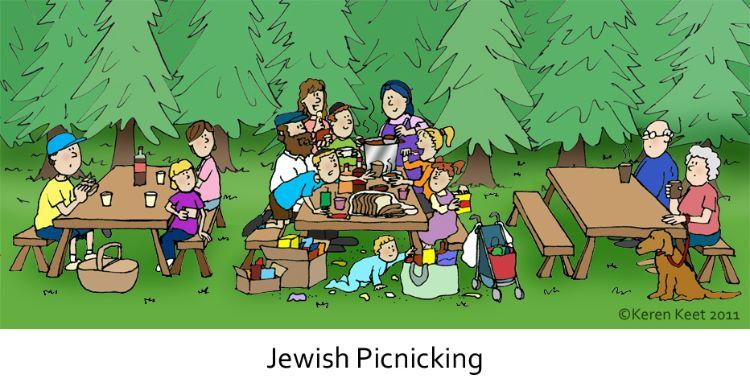 Jewish Picknicing