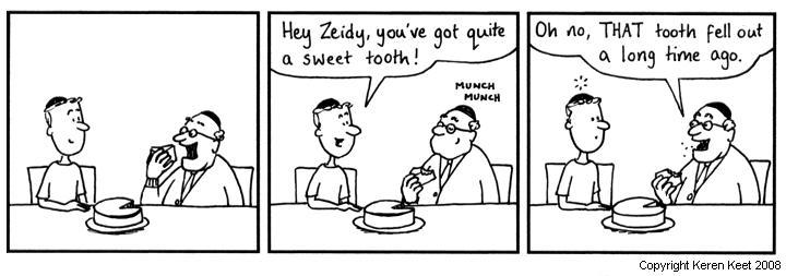 Zeidy's Tooth