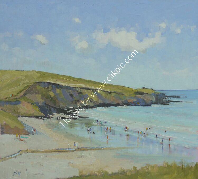 Beach day Porthcurnick