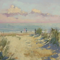 Evening at Walberswick