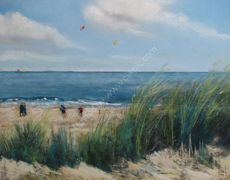 Sails, Kites and Marram Grass