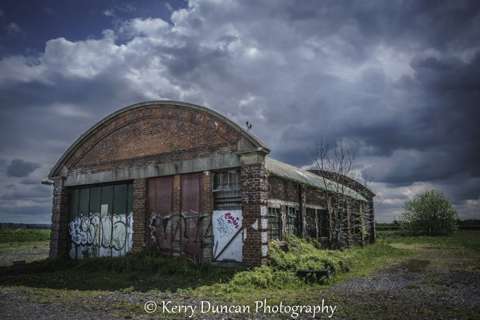 Derelict Under Stormy Skies