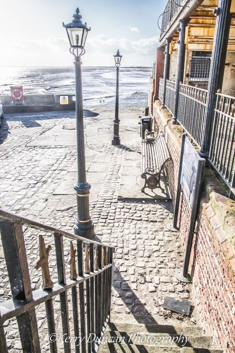 Down The Steps, The Sea