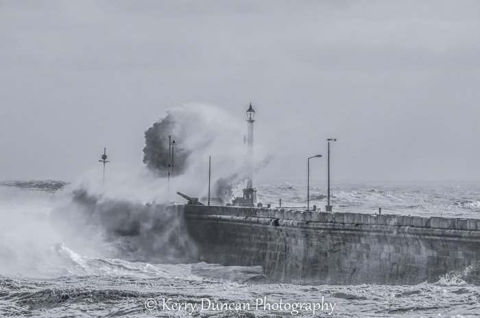 Harbour Wall Storm