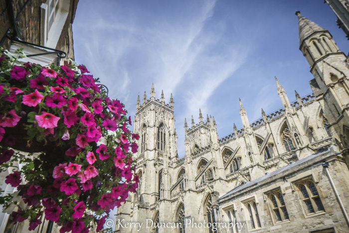 Flowers At The Minster
