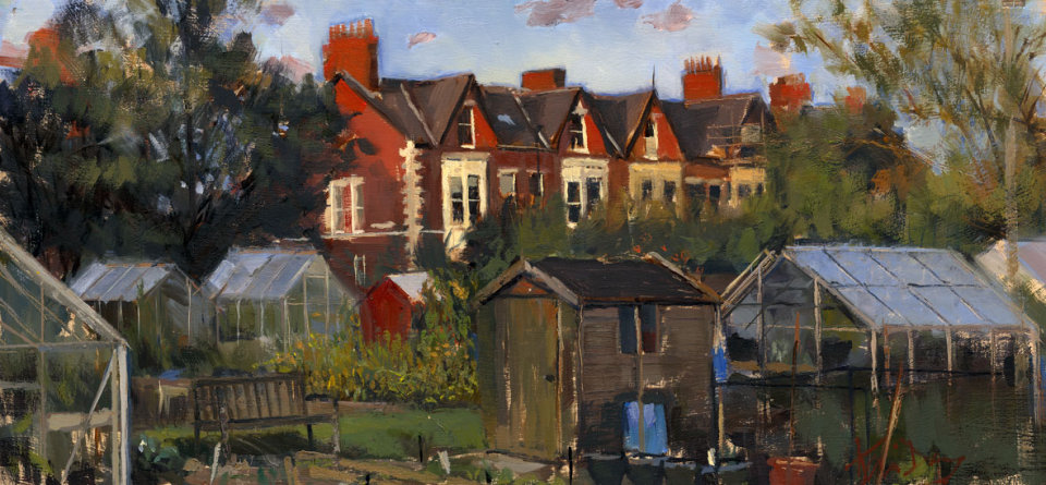 Empty Allotments, Jesmond