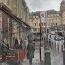 Market Street Rain