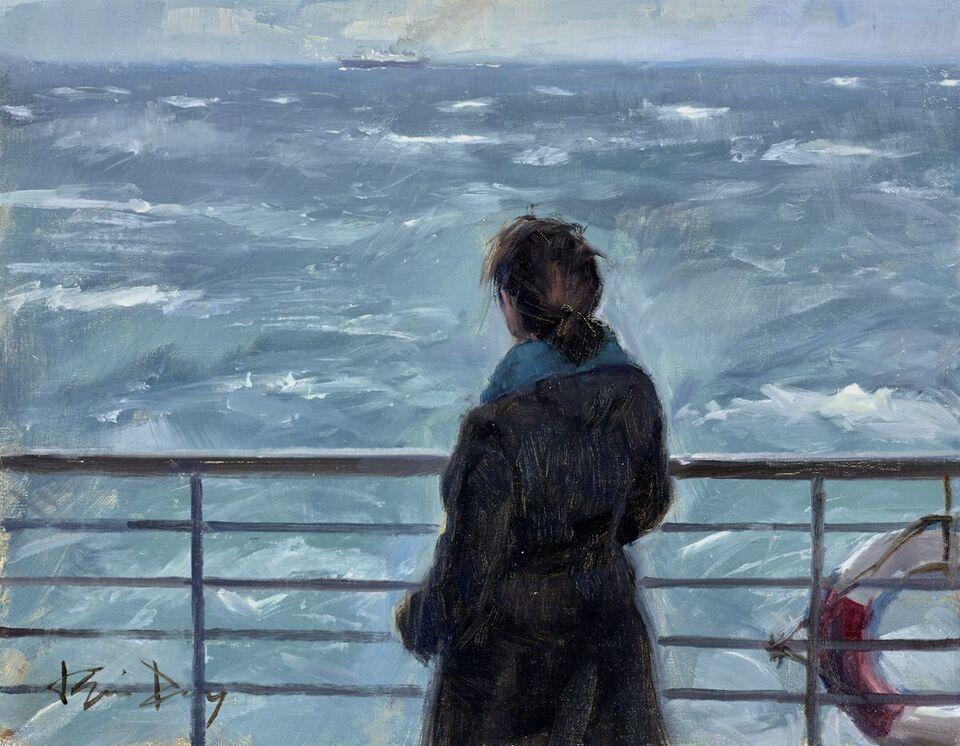 Distant Ship