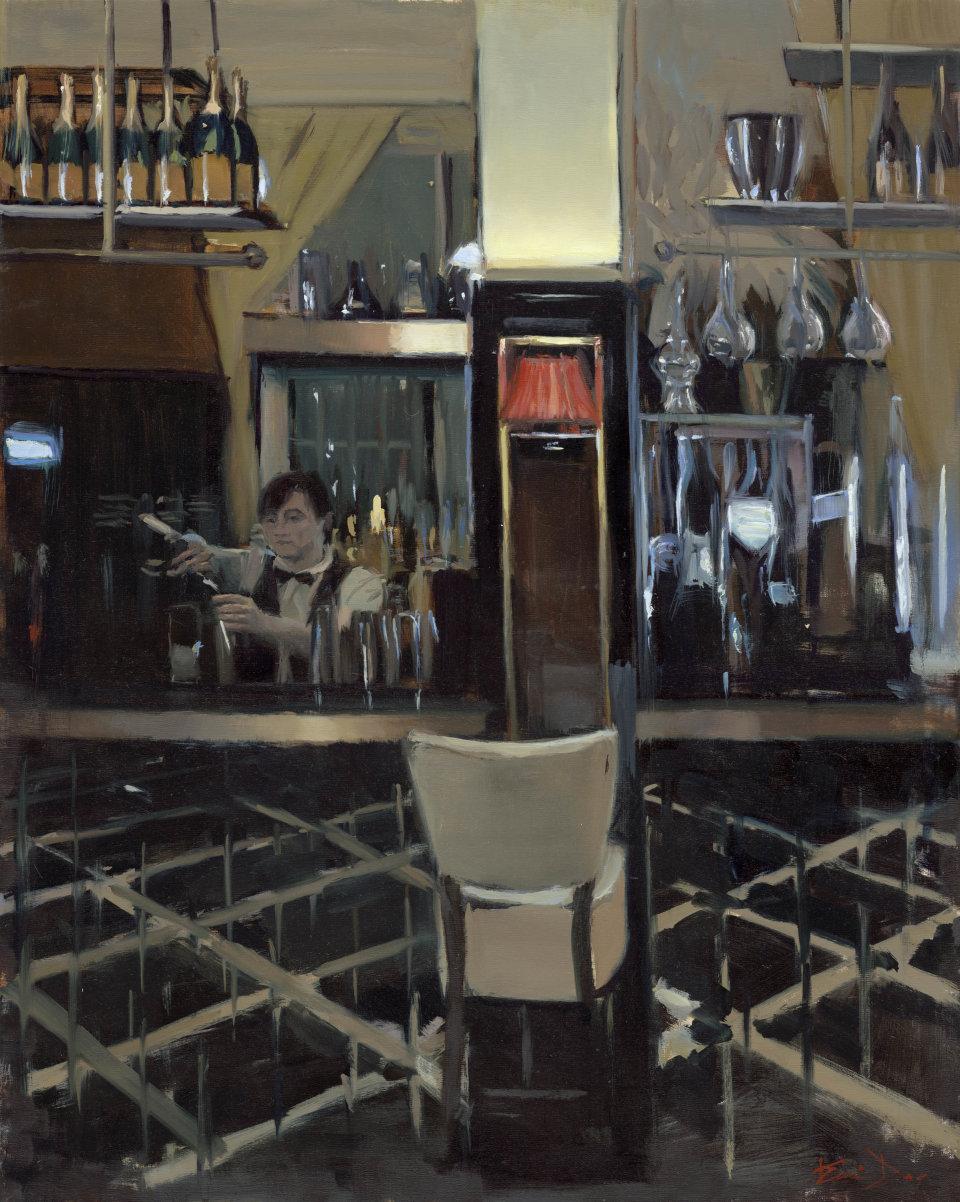 Empty Bar Stool