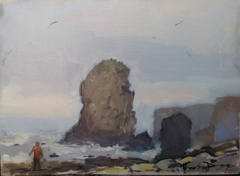 Rock at Marsden