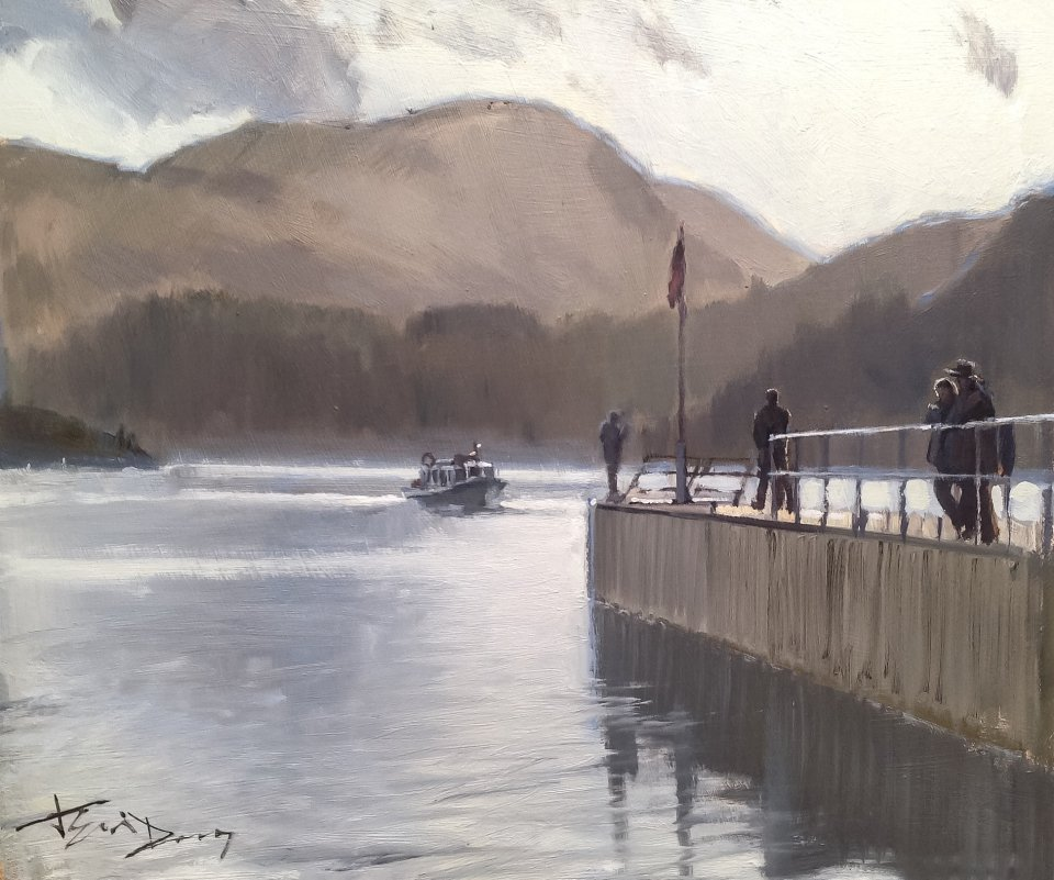 Waiting For The Ferry,Ullswater