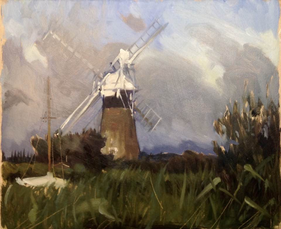 St Bennetts Drainage Mill