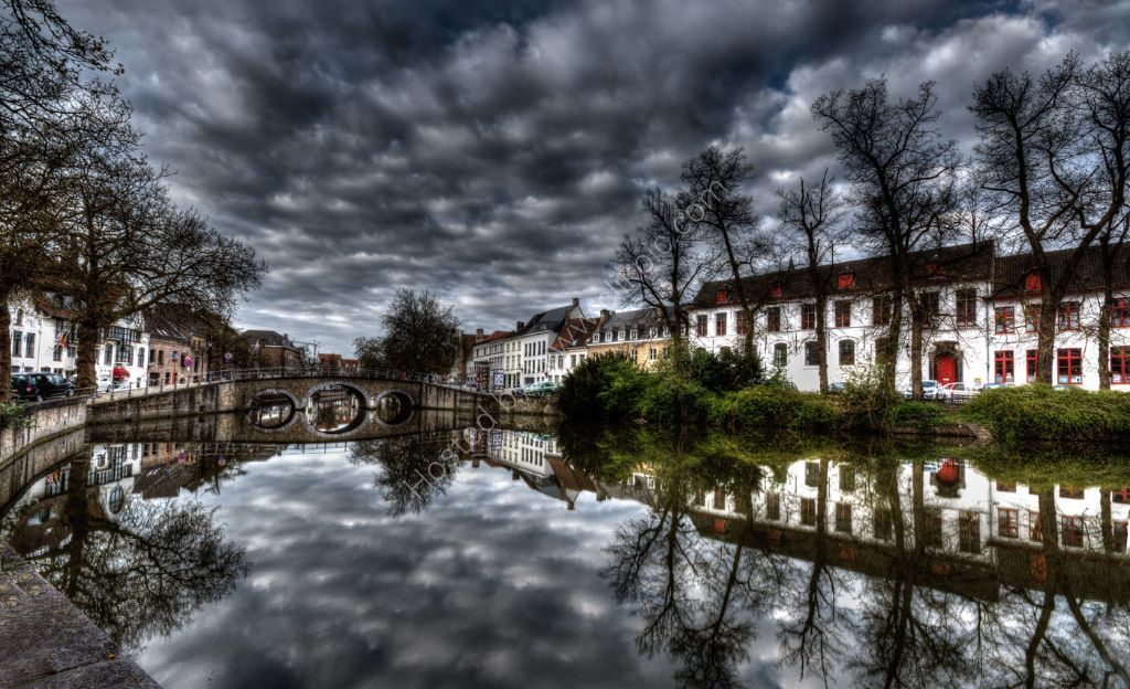 A Stormy day in bruges