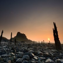 Dawn of a new day lindesfarne