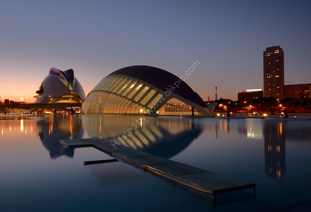 Evening Reflection Valencia
