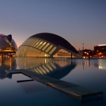 Evening Reflection Valencia