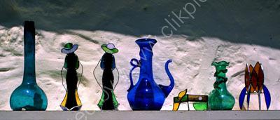 Glassware at Omodos