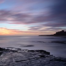 Shore at Sunrise Bamburgh