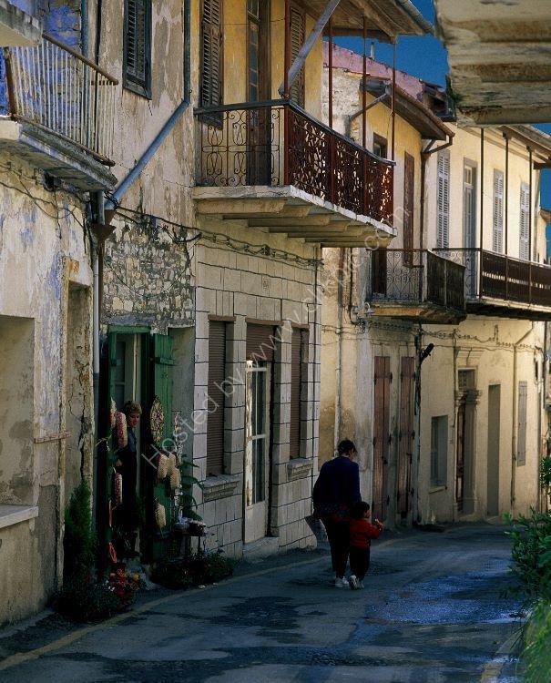 cypriot street  scene