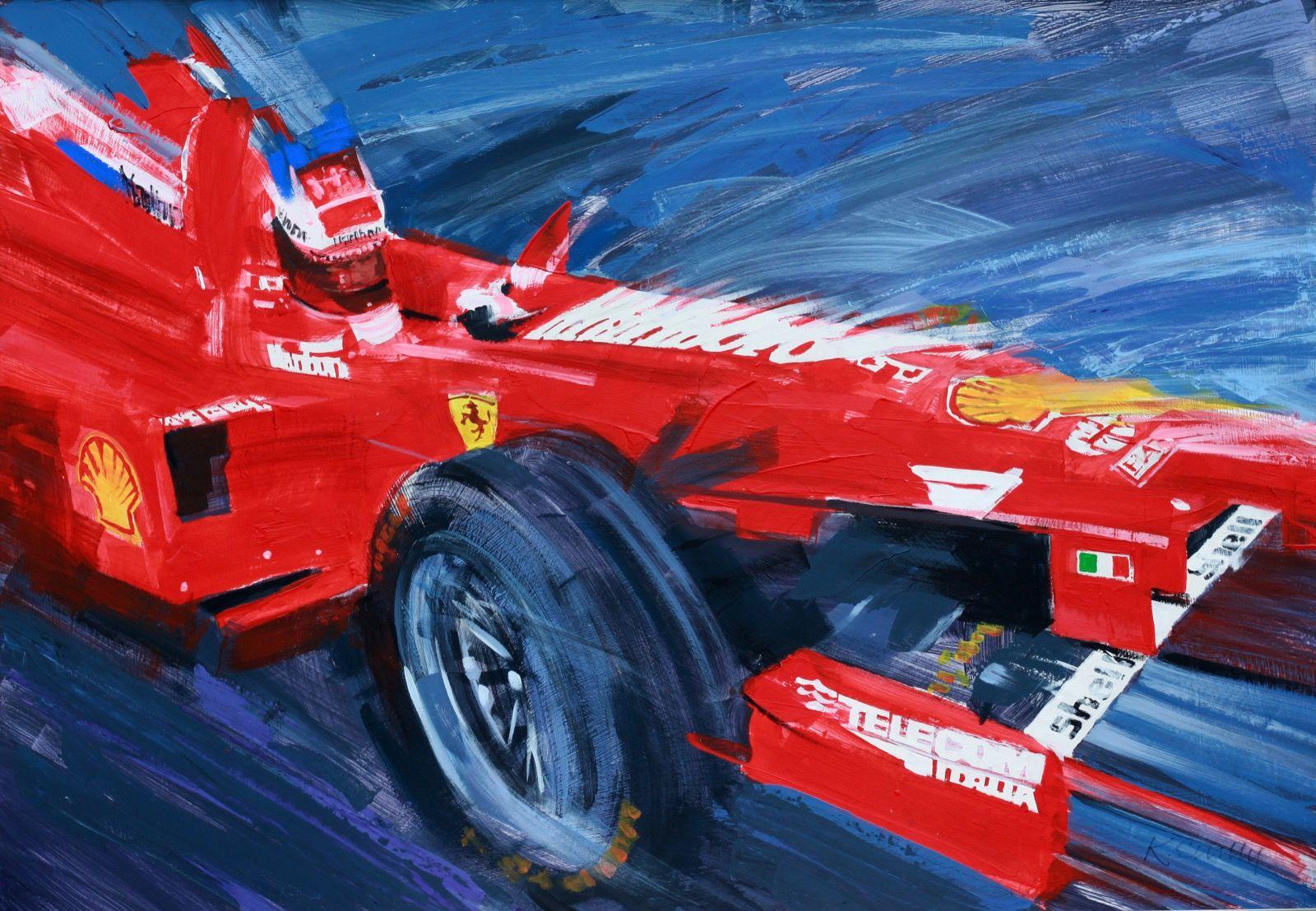 Ferrari F1 - Acrylic