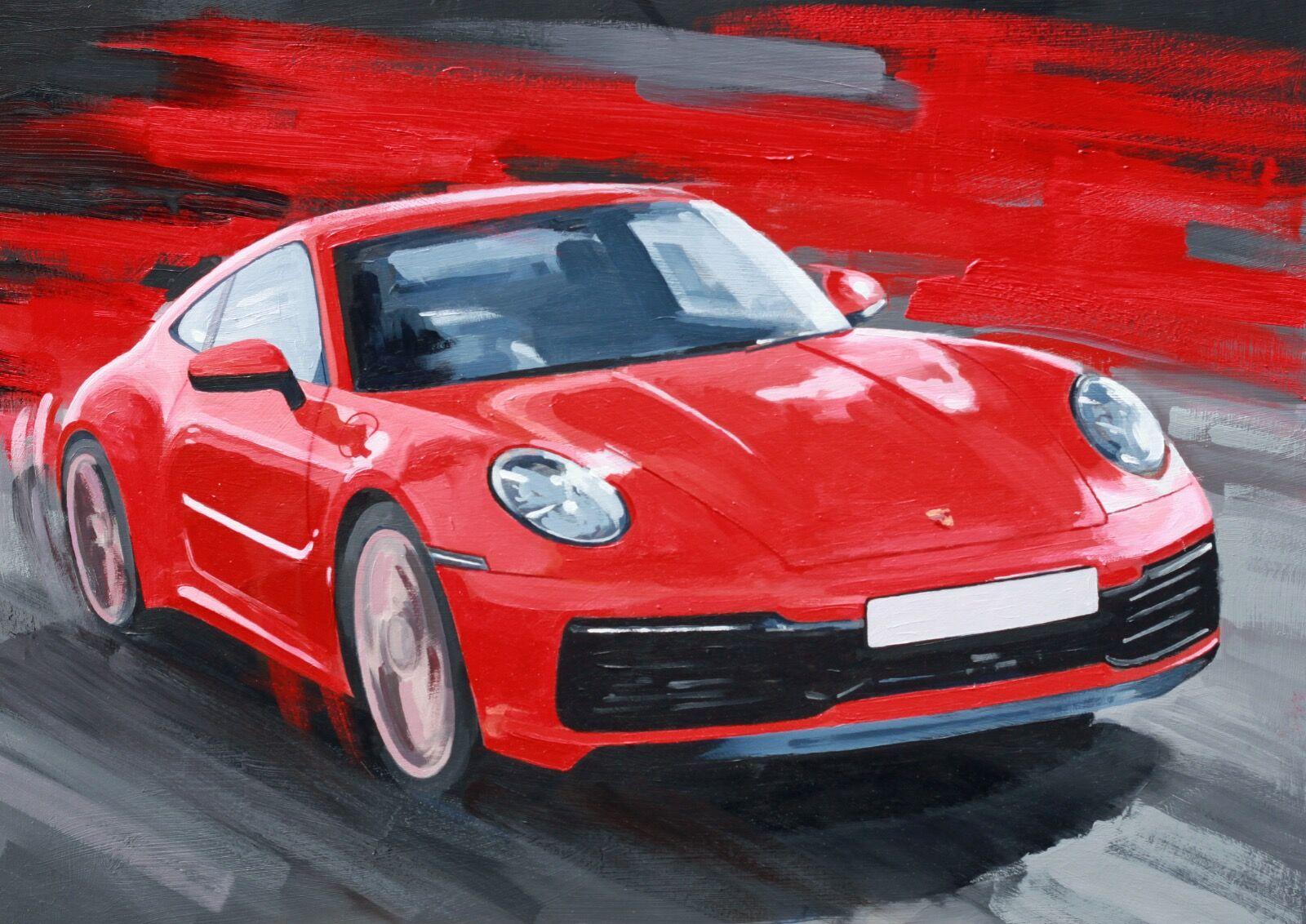 Porsche 911S Carrera - Oil