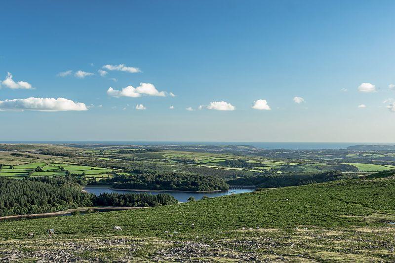 Burrator reservoir view