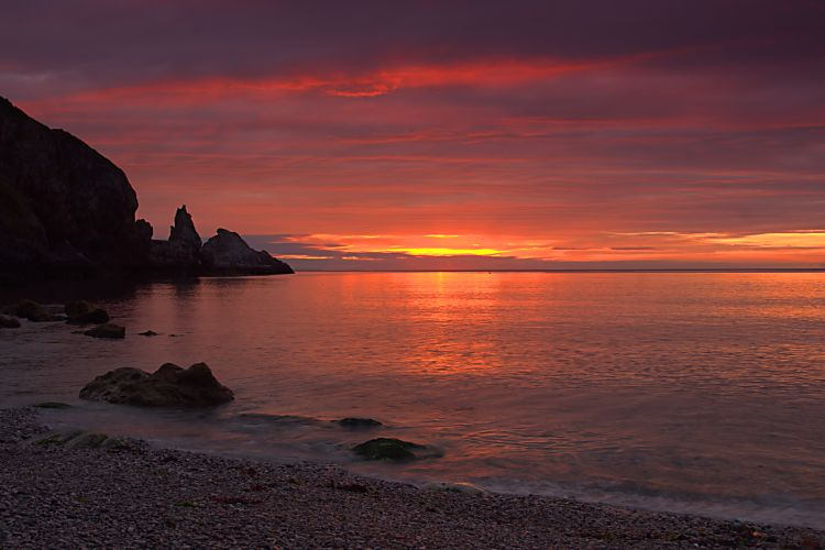 Redgate beach sunrise