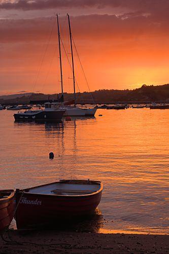 Teignmouth sunset 1