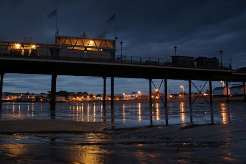 paignton pier reflections 2