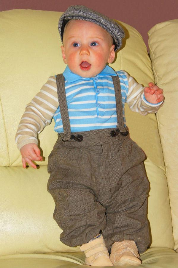 Owen standing