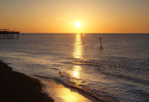 Teignmouth sunrise 2