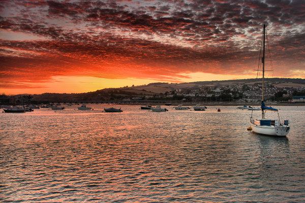 Teignmouth sunset 1 p0021