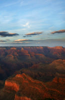 Dusk over the Grand Canyon