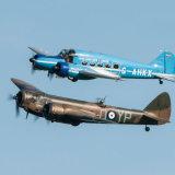 Bristol Blenheim Mk1 and Avro Anson