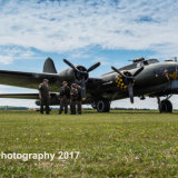 B17G Flying Fortress & crew