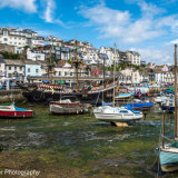 Brixham Harbour (tide out)