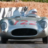 Mercedes Benz 300SLR (driven by Stirling Moss)