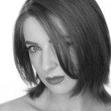 Robin Brooke black & white portrait