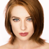 Robin Brooke ring flash colour portrait