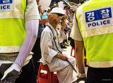Korean Protester