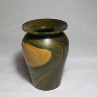 140206 Lignum Vitae Vase SOLD
