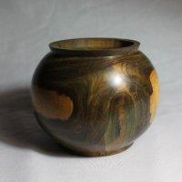 140531 Lignum Vitae Bowl SOLD