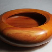 140610 Canarywood Enclosed Bowl SOLD