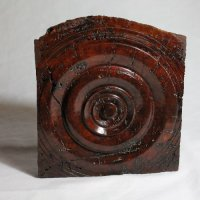 140815 Red Mallee Burr Turning