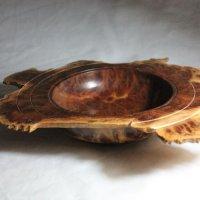 140828 Vasticola Burr Natural Edge Bowl