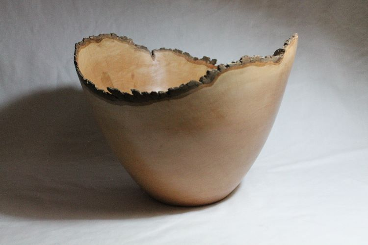 140901 Perry Pear Natural Edge Bowl SOLD