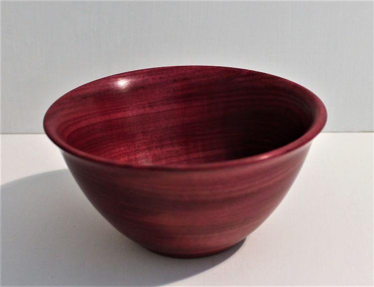160615 Purpleheart Bowl
