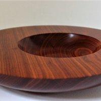 160804 Satine Wood off centre bowl