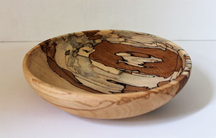 160806 Spalted Beech Bowl SOLD